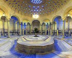 Мытье в турецком хамаме